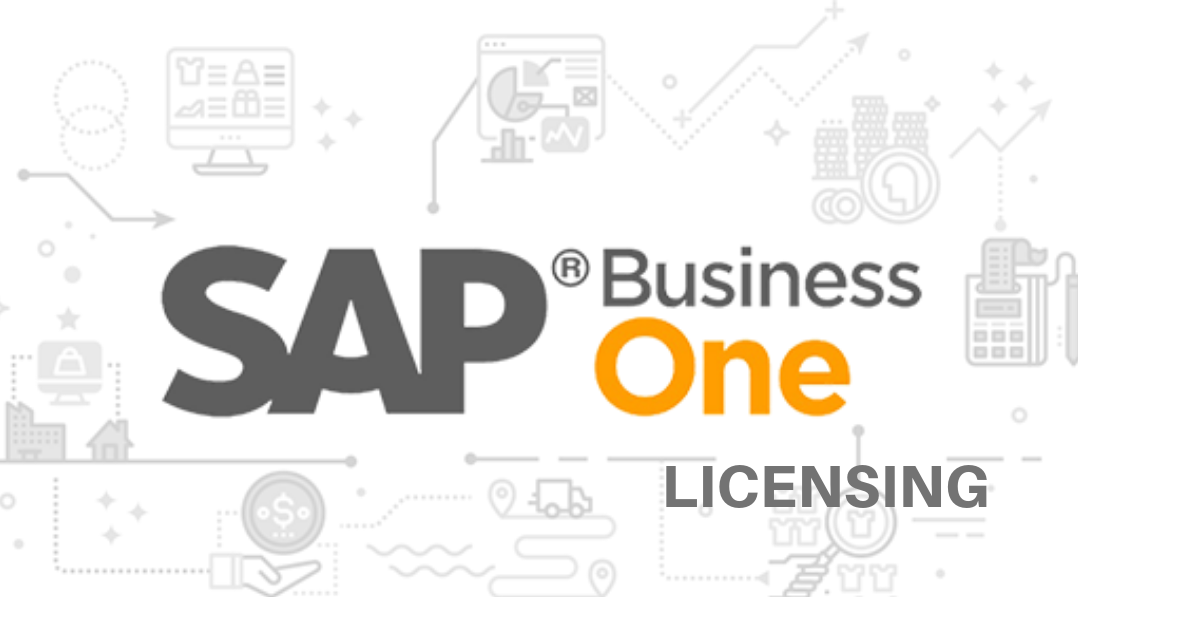 SAP Business One licensing